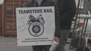 CN rail workers go on strike