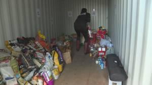 West Kelowna Animal Food Bank sees record demand (01:59)