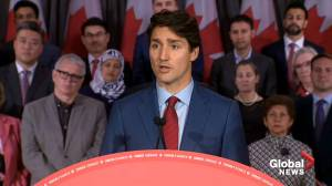 Federal Election 2019: Trudeau explains context for blackface video obtained by Global News