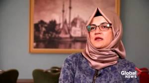 'I thought I would become Jamal's wife. Instead I became the last witness before a murder': Khashoggi's fiancé (01:40)
