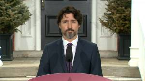 Coronavirus outbreak: Trudeau addresses large crowds at Toronto's Trinity-Bellwoods Park