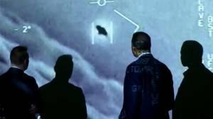 U.S. navy pilots recount alleged UAP sightings (01:18)