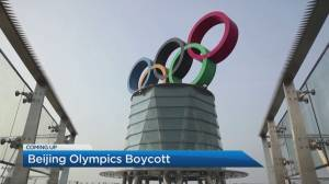 Liberal MPs call for boycott of 2022 Beijing Winter Olympics (05:56)