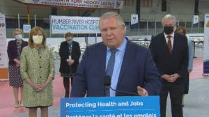Premier Ford tells people not to have plans for Easter, 'won't hesitate to lock things down' (00:49)