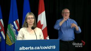 Alberta will not have a COVID-19 vaccine passport: Dr. Hinshaw (01:08)
