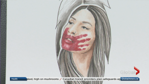 Edmonton artist draws attention to Missing and Murdered Indigenous Women