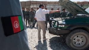 Afghan interpreters face death threats from Taliban after U.S. troops leave (02:12)