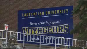 Laurentian University facing 'unprecedented financial challenges', files for court protection (02:20)