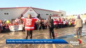N.S. hockey team rallies to support P.E.I community in rebuilding its arena