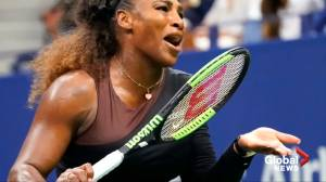 Serena Williams poised for record-tying U.S. Open final