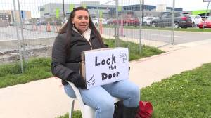 Parents troubled by door-locking policy at Kingston school during work-to-rule