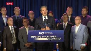 Manitoba Election: Incumbent premier reflects on why he got into politics