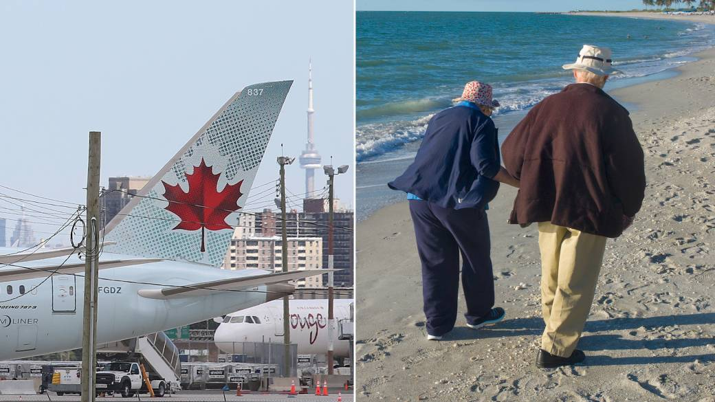 Click to play video 'Coronavirus: 30 per cent of Canadian snowbirds heading to US for winter amid pandemic'
