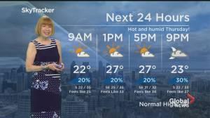 Global News Morning weather forecast: September 23, 2021 (01:31)