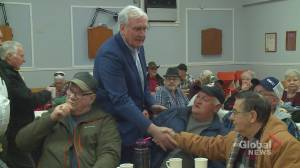 Liberal leader Kevin Vickers heads to Perth-Andover for meeting on emergency room closures