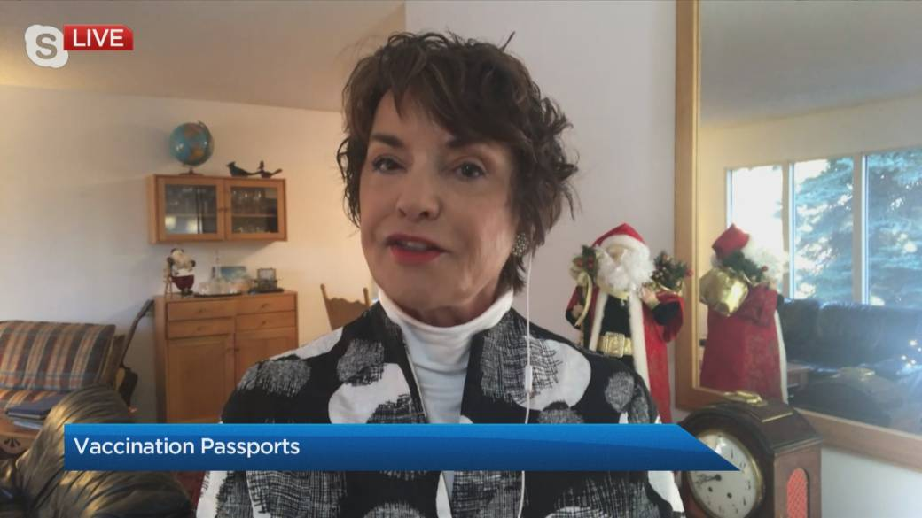 Click to play video 'The Travel Lady: Vaccination passports'