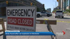 I.E.D. believed to be behind fatal Kitchener car explosion, police say