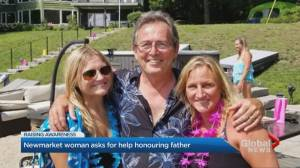 Newmarket woman organizing run in honour of father