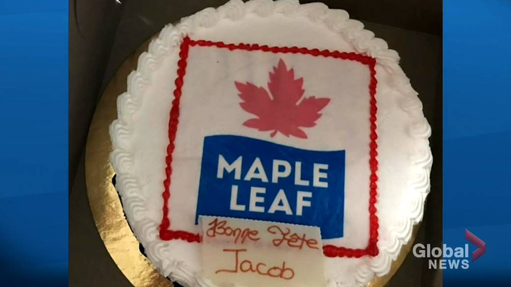 Incredible Botched Cake Leads To Belated Birthday Surprise For Young Toronto Funny Birthday Cards Online Amentibdeldamsfinfo