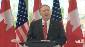 Pompeo says U.S. made it clear with China that detaining Canadian citizens is 'inappropriate'