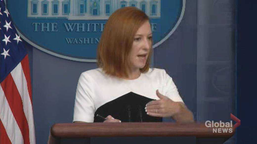 Click to play video: 'Donating COVID-19 vaccines should be easier now that regulatory hurdles cleared: Psaki'