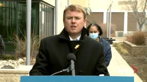 Alberta health minister says they don't have recommendations for new COVID-19 restrictions from Hinshaw (02:23)