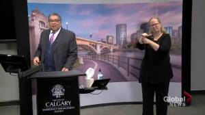 Nenshi asks COVID-19 protestors to 'stop being so frickin' self-indulgent' (00:46)