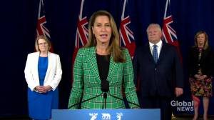 Ontario Transportation Minister Caroline Mulroney gives details on province's new towing task force