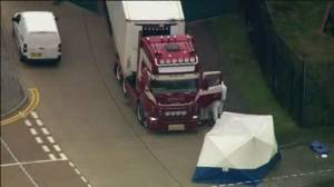 British police say 39 bodies found inside truck were from China