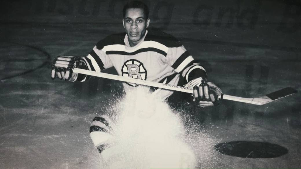Click to play video 'NHL hopes to improve its lack of diversity decades after colour barrier broken'