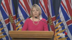 Dr. Bonnie Henry encourages 'new form of learning' in B.C. education system