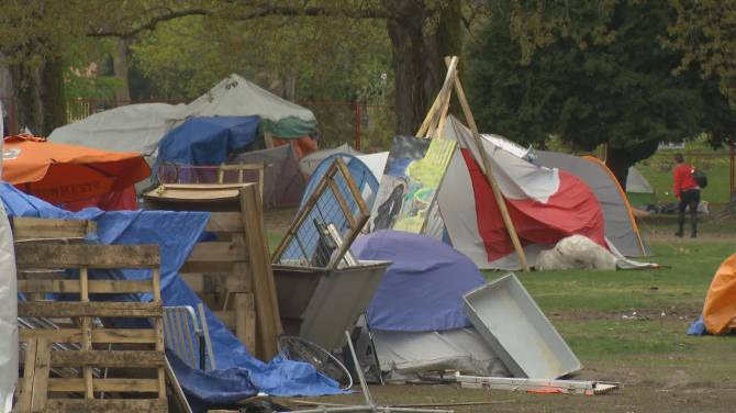 Click to play video: April 30th Deadline looms for Strathcona Park tent city removal