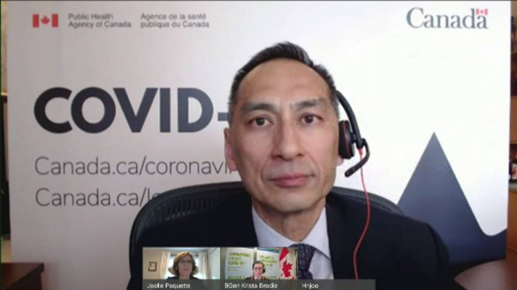 Click to play video: 'Canadian health officials says COVID-19 vaccine dosing interval could be shortened as more deliveries arrive'