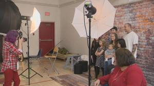 Lights, camera, action: Families in need receive free portraits in Lethbridge