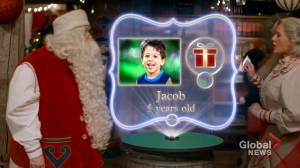 Montreal-based firm makes sure kids can stay connected with Santa even amid the pandemic (01:31)