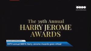 39th annual BBPA Harry Jerome Awards go virtual (03:54)