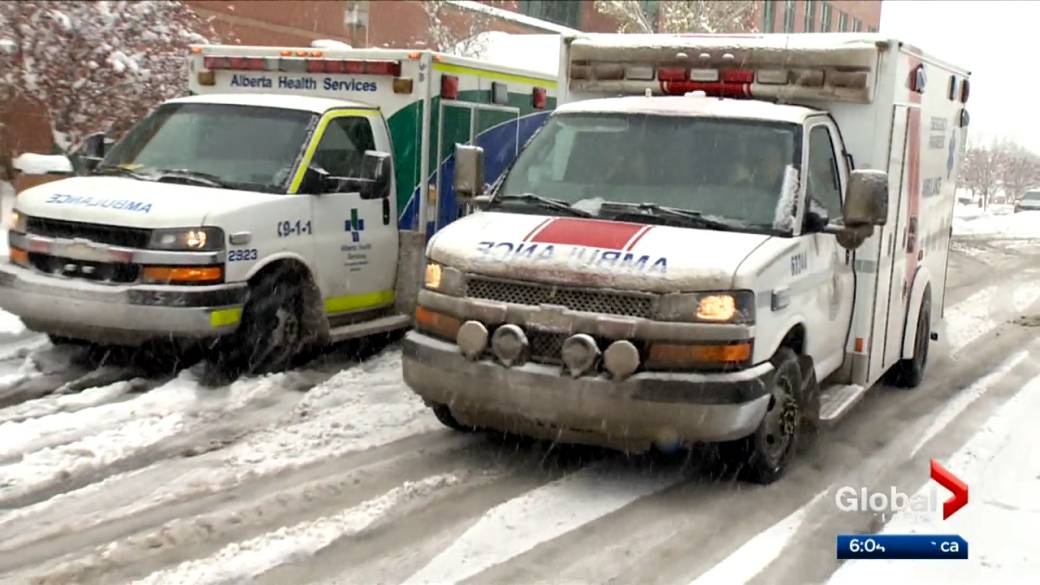 Click to play video 'Alberta mayors ask for investigation into EMS dispatch'