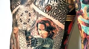 Alberta man has Guinness World Record for most Marvel tattoos