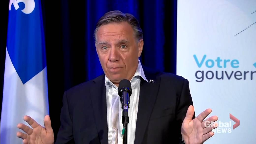 Click to play video: 'Quebec premier criticizes Trudeau, says O'Toole would be easier to work with'