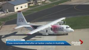 Three firefighters killed in Australia air tanker crash