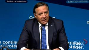 COVID-19: Legault outlines loosened restrictions as all Quebec regions set to enter green level (02:03)