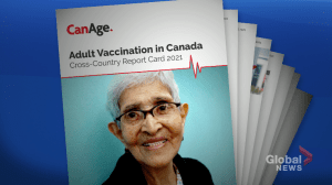 New CanAge report highlights vaccine distribution issues (01:54)