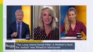 Journalist Deborah Norville talks about the real case that inspired the movie 'The Long Island Serial Killer' (04:32)