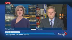 Previewing B.C.'s COVID-19 case trends (01:28)