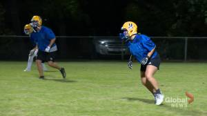 Dale tackles new challenge as Saskatoon Hilltops' first female player