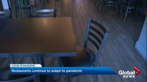 Restaurants continue to adapt to pandemic (02:02)