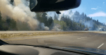 New wildfire breaks out along Coquihalla Highway near Merritt, B.C.