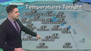 Cooling off: Nov. 19 Saskatchewan weather outlook (02:25)