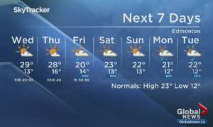 Edmonton Weather Forecast: Aug 4