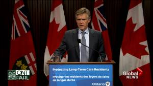Ontario makes COVID-19 vaccines mandatory for all long-term care home staff (02:24)